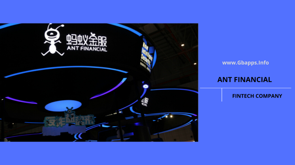 ant financial fintech business model