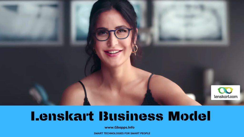 business model of lenskart