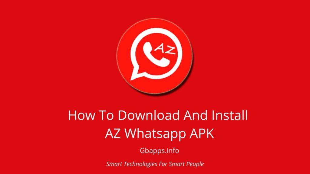 download az whatsapp apk