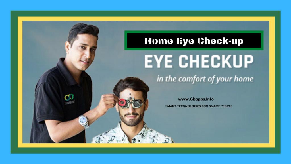 home eye checkup by lenskart