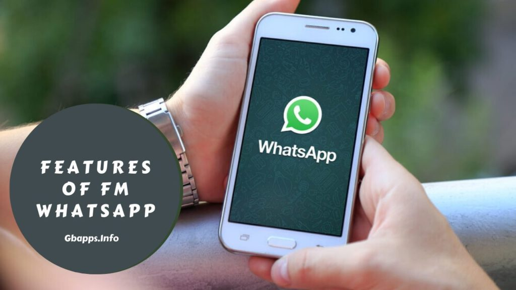 what is a features of fm whatsapp