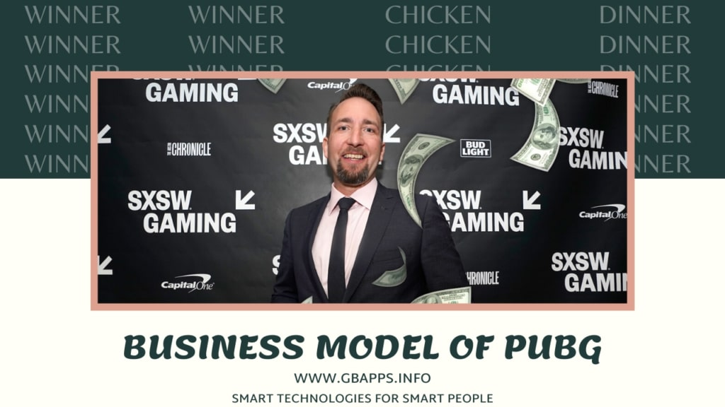 business model of pubg