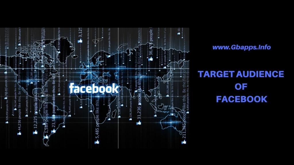 target audience of facebook