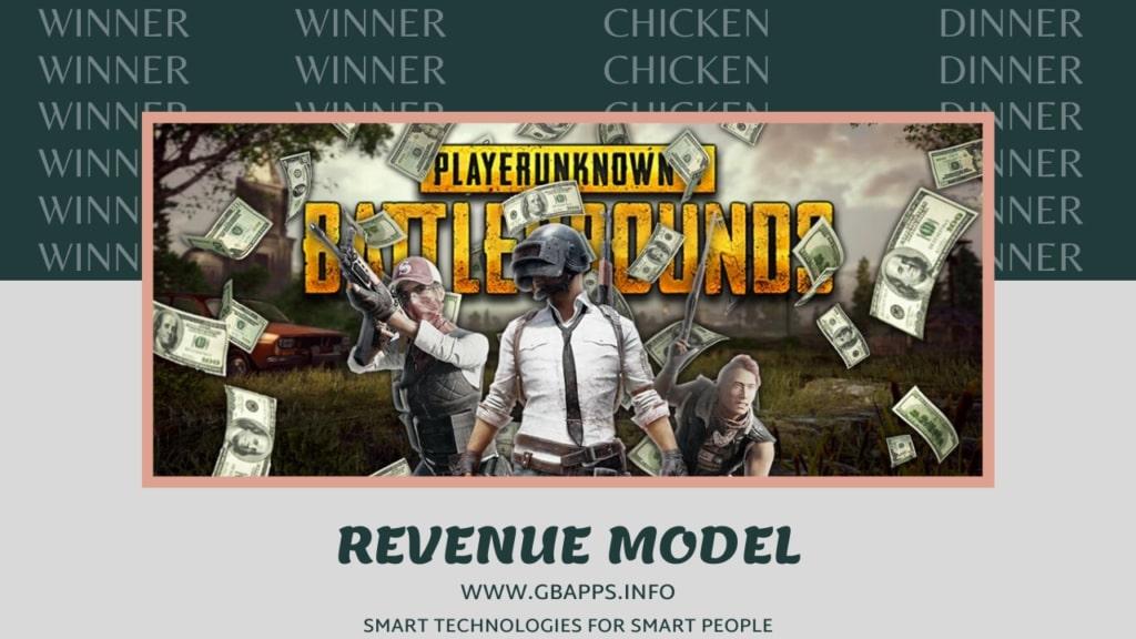 pubg revenue model