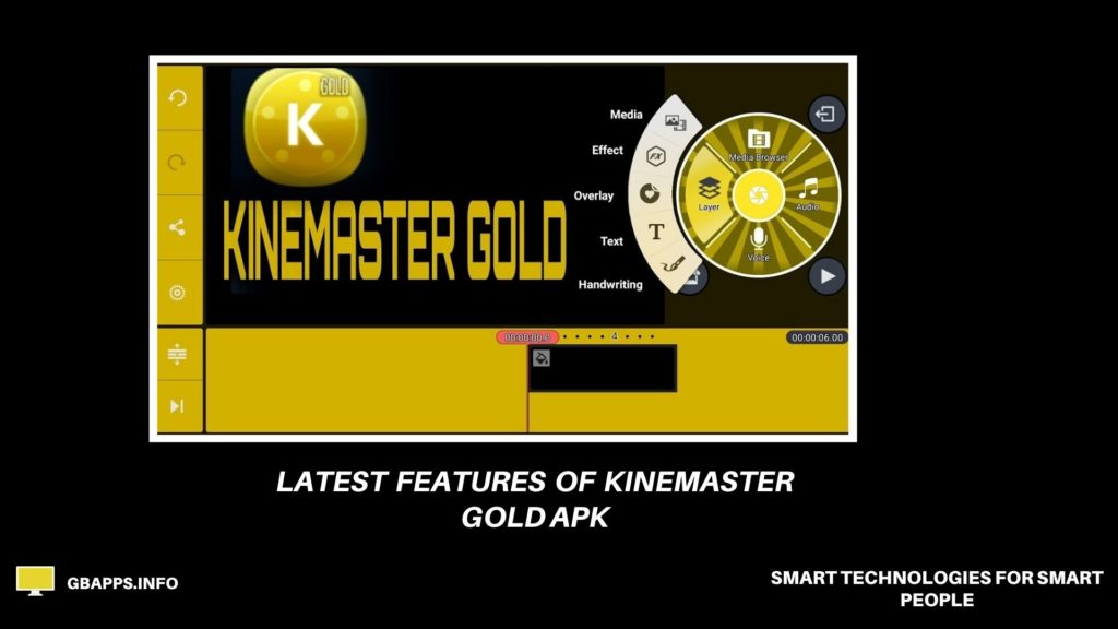 kineMaster Gold APK mobile version screenshot