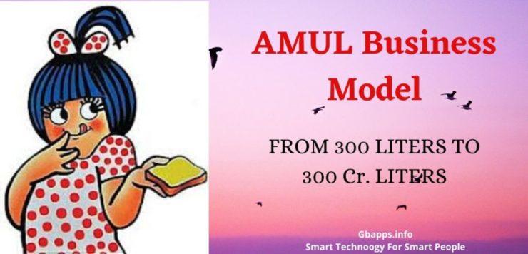 AMUL Business Model