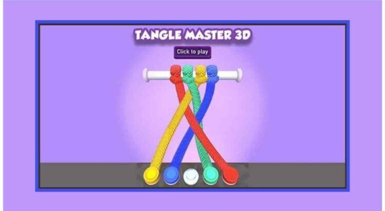 Tangle Master 3D Apk