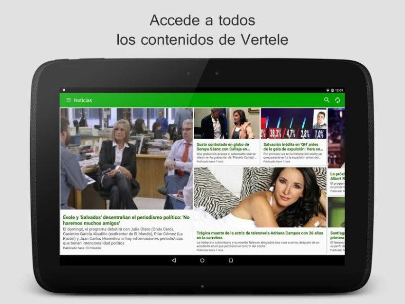 Vertele Descargar Apk para sus dispositivos Android
