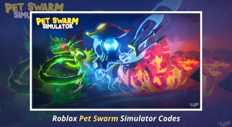 Roblox Pet Swarm Simulator Codes