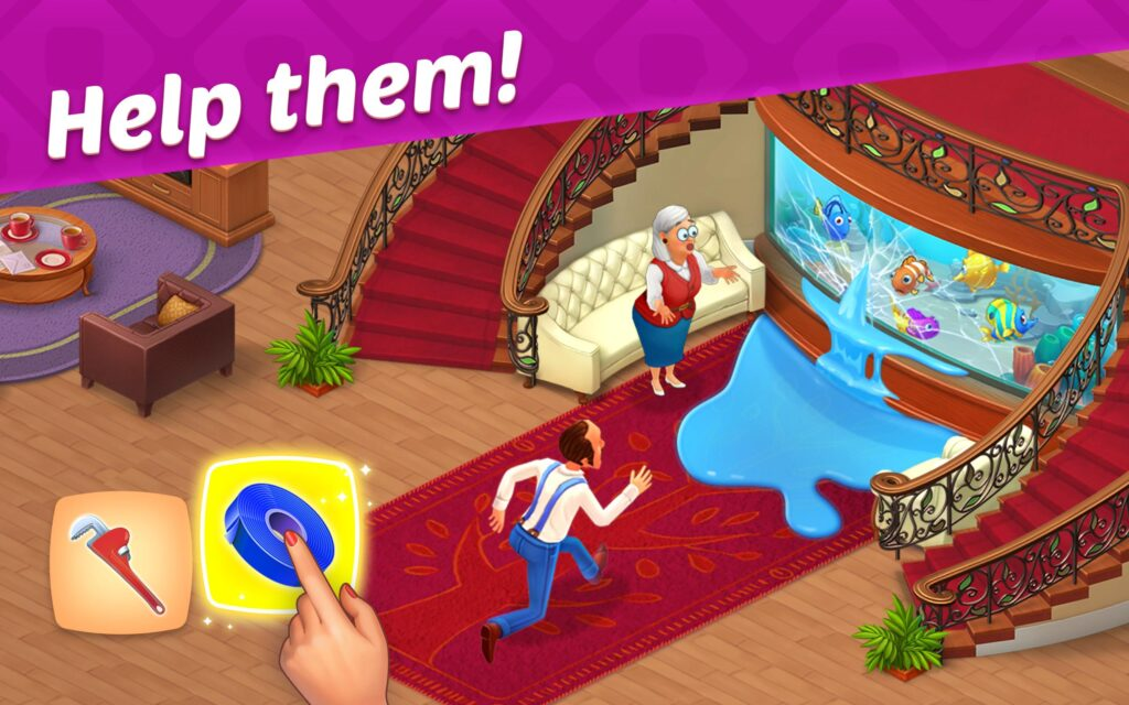 Download Homescapes Mod Apk Unlimited Stars And Money Terbaru