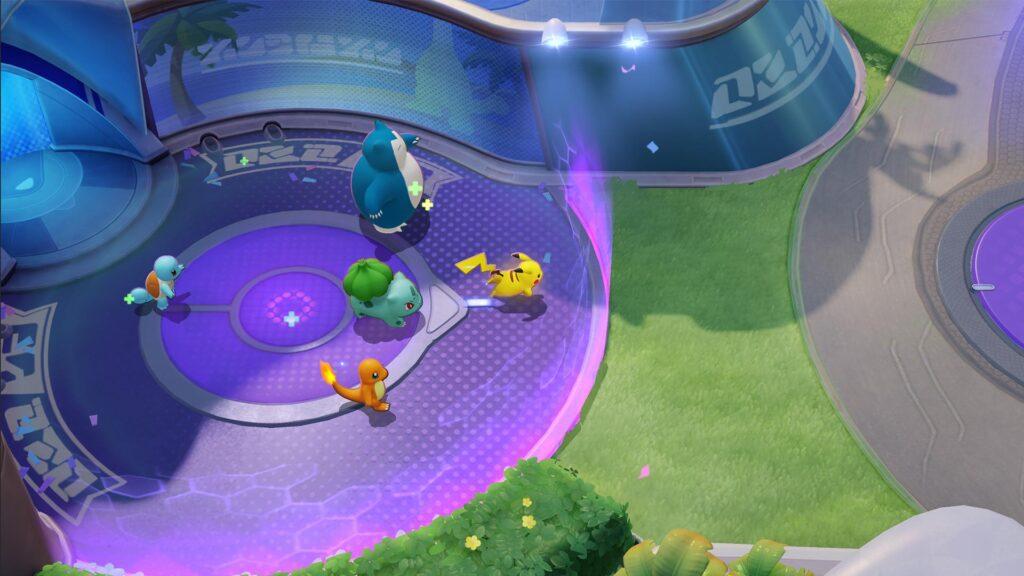 Descrição do Pokémon Unite Apk