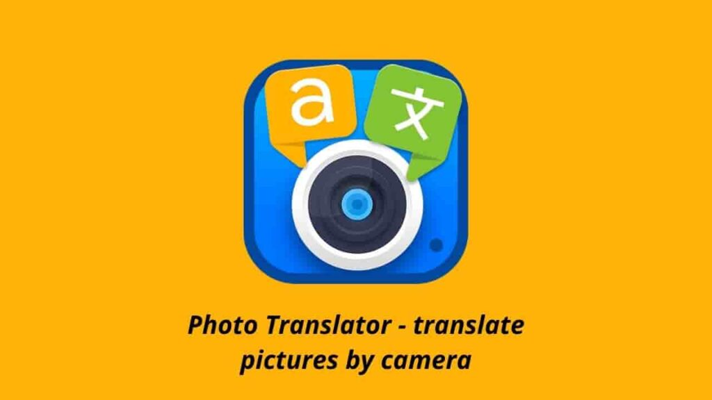 Photo Translator Apk