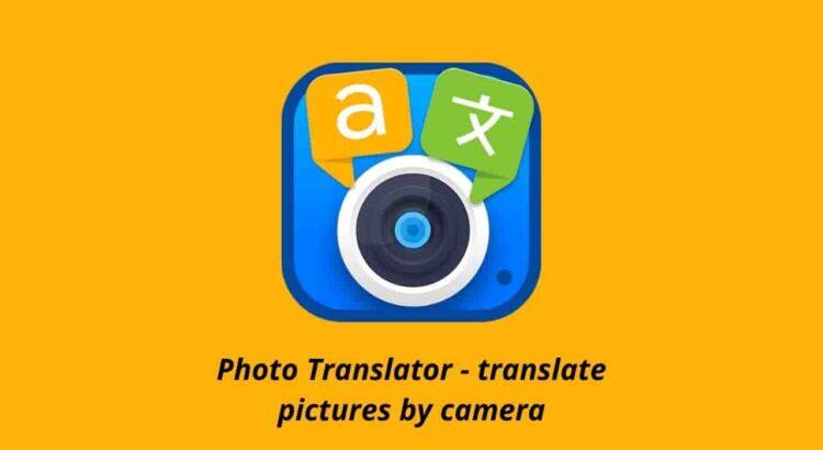 Photo Translator Apk