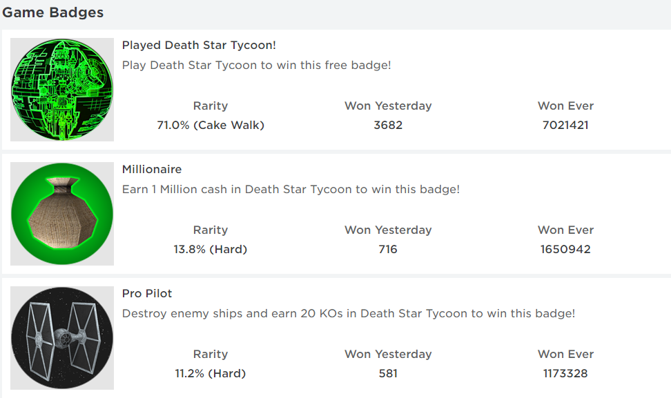 Death Star Tycoon Codes Roblox (Expired)