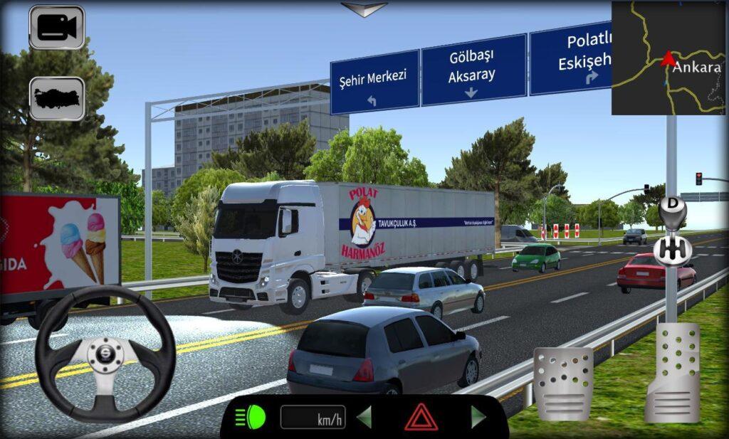 Cargo Simulator 2021 Türkiye Apk açıklaması