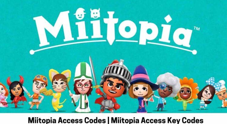 Miitopia Access Codes Miitopia Access Key Codes