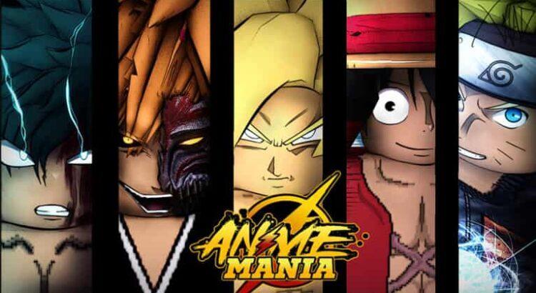 Códigos Roblox Anime Mania