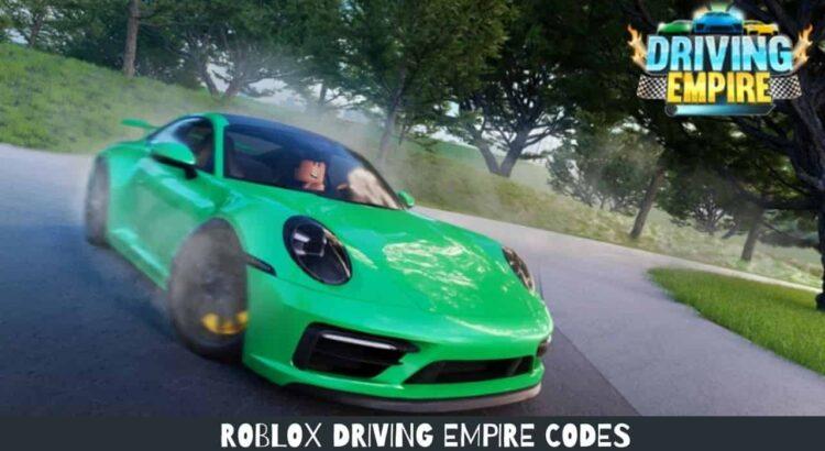 Roblox Driving Empire Codes