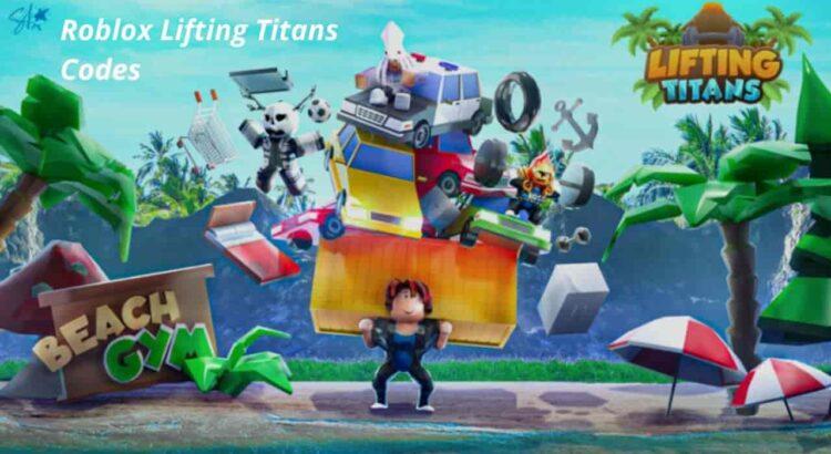 Roblox Lifting Titans Codes