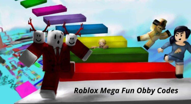 Roblox Mega Fun Obby Codes