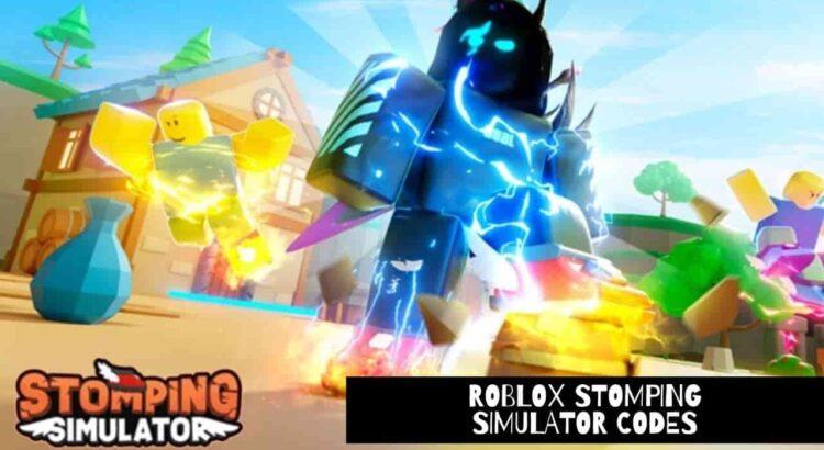 Roblox Stomping Simulator Codes
