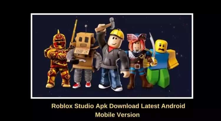 Roblox Studio Apk