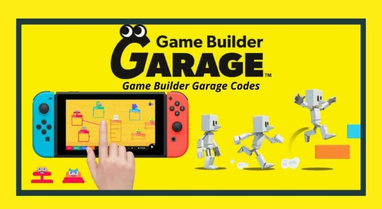 Game Builder Garage Codes