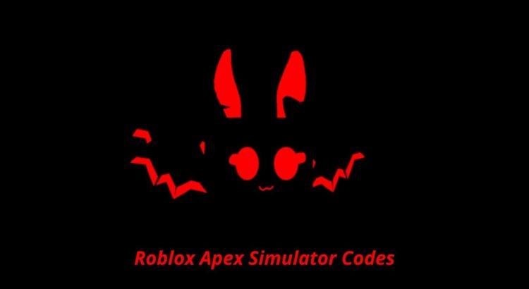 Roblox Apex Simulator Codes