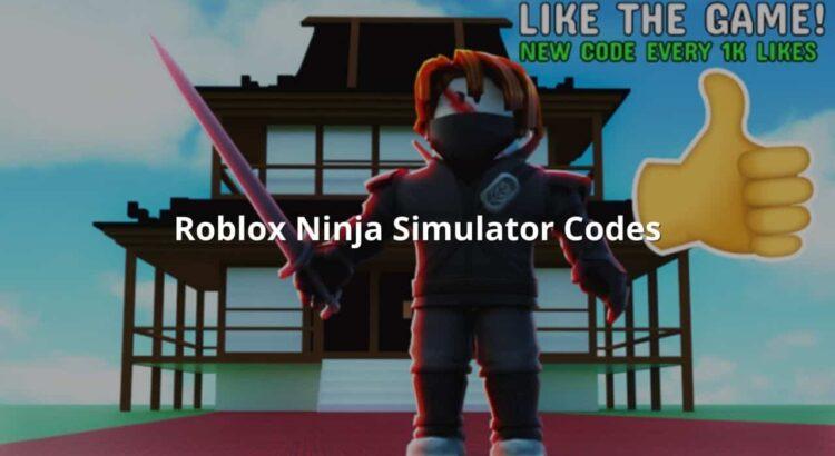 Roblox Ninja Simulator Codes