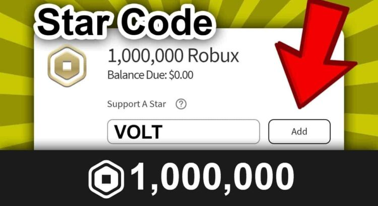 Star Codes For Robux