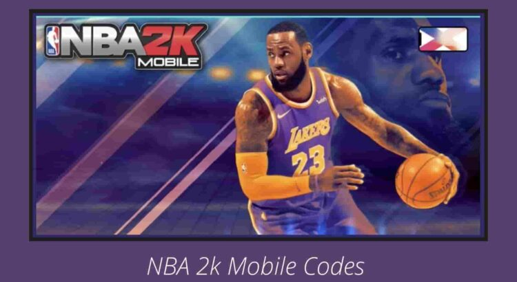 NBA 2k Mobile Codes