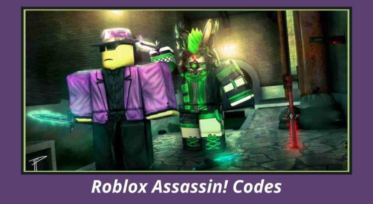 Roblox Assassin! Codes