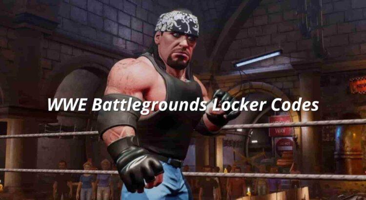 WWE Battlegrounds Locker Codes