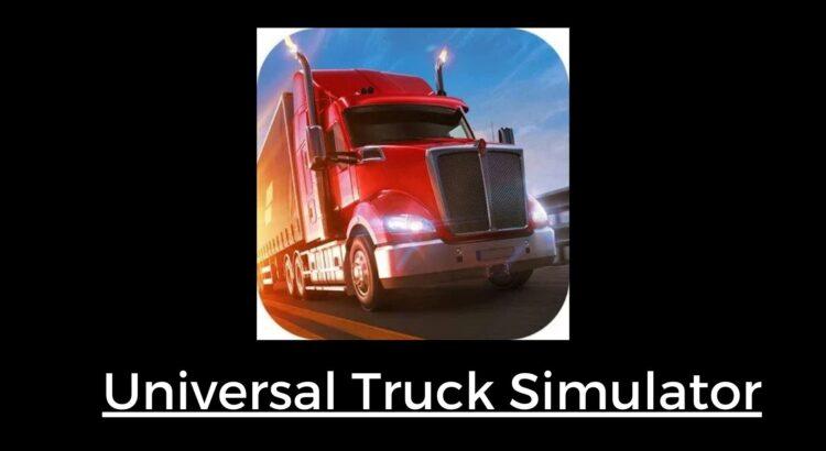 Universal Truck Simulator Apk