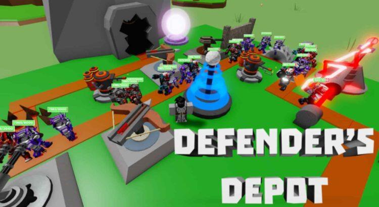 Roblox Defenders Depot Codes
