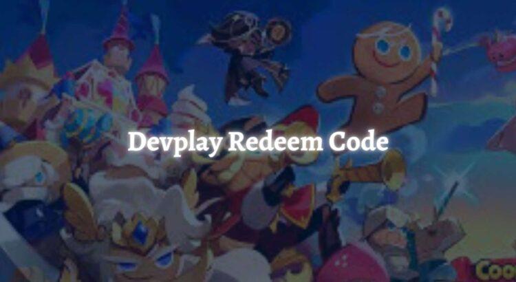 Devplay Redeem Code