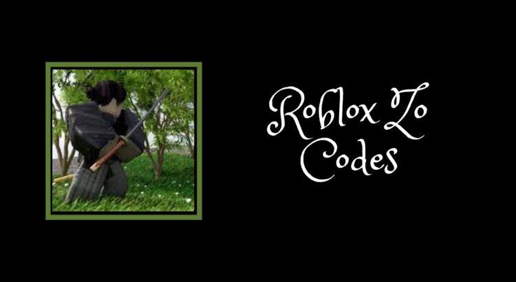Roblox Zo Codes