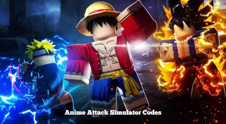 Anime Attack Simulator Codes