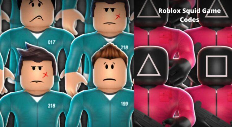 Roblox Squid Game Codes