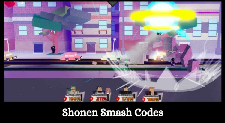 Shonen Smash Codes